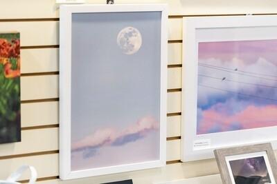 Moonrise Framed Canvas