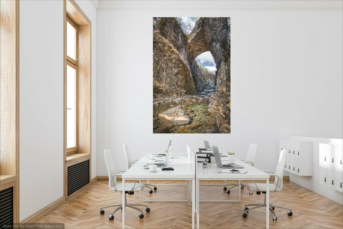 Natural Bridge Canvas