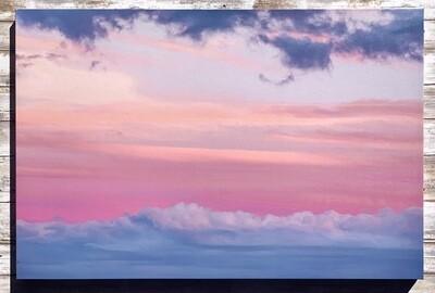 Cloud Waves Canvas