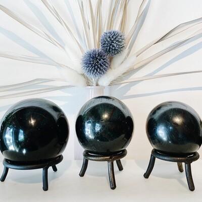 Black Tourmaline Spheres