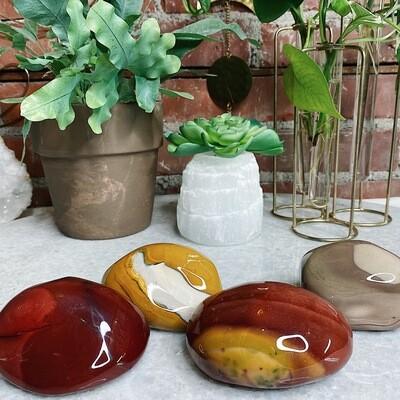 Mookaite Therapy Stones