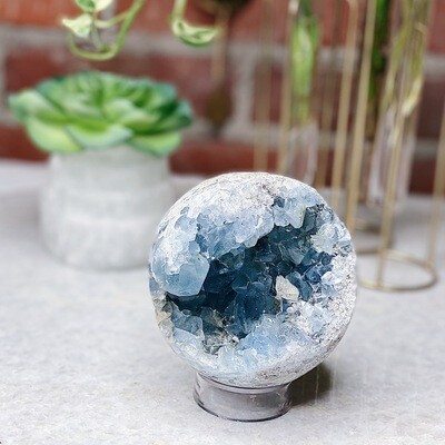 Large Celestite Sphere