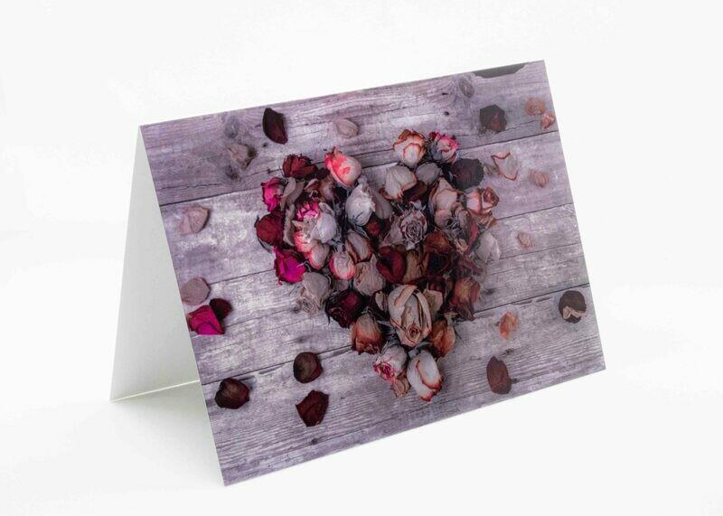 Flowers Love Greeting Card