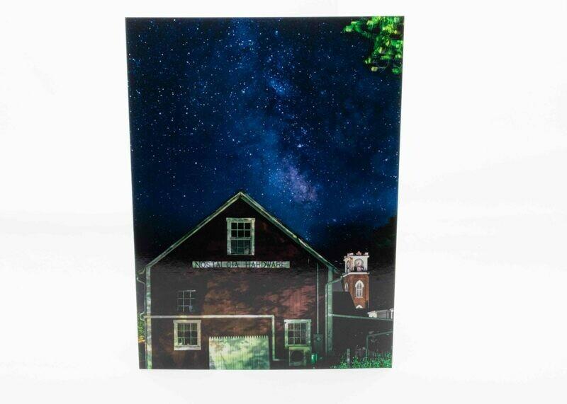 Nostalgia Milky way Greeting Card