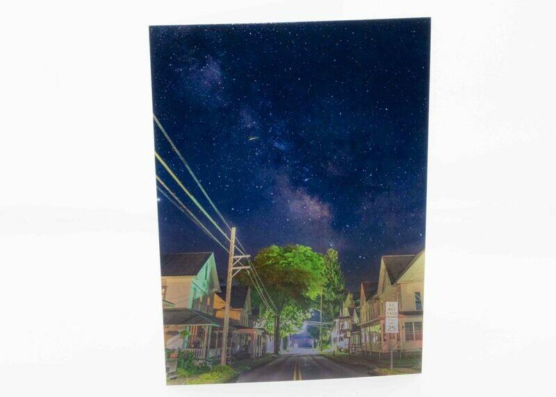 Milky Way Penn St Greeting Card