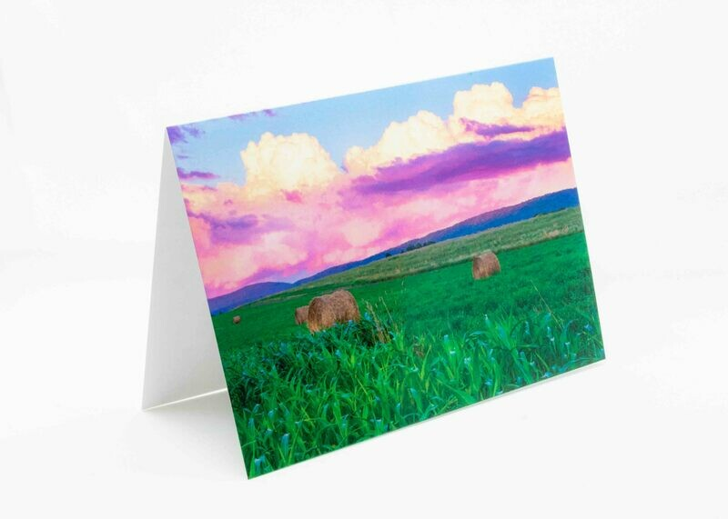 Penns Valley Sunset Greeting Card