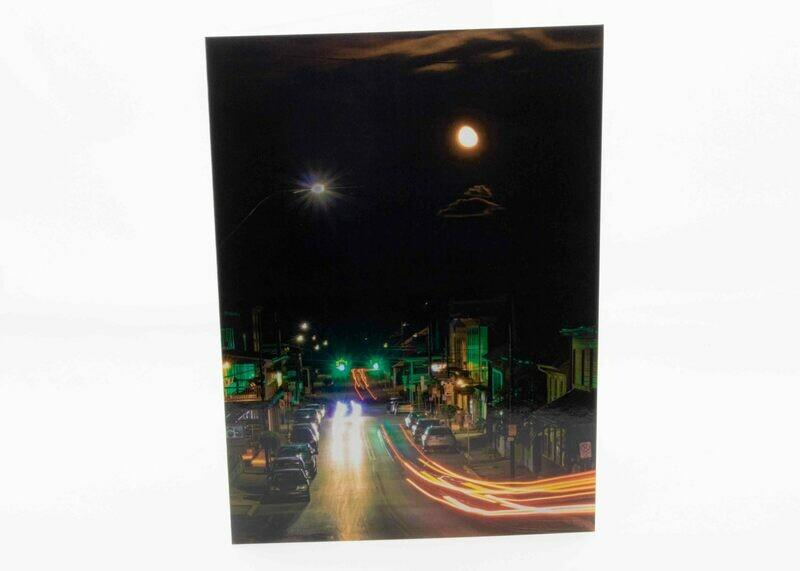 Moon Over Millheim Greeting Card