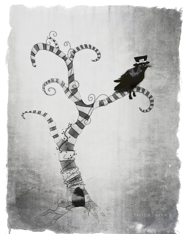 Swirly Tree Perch