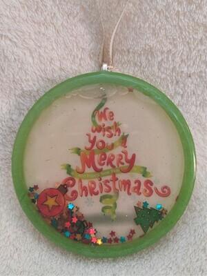 Christmas shaker ornament - Tree
