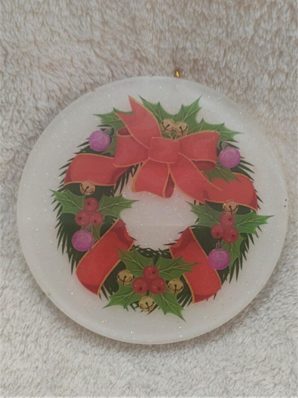 Christmas tree ornament - Wreath