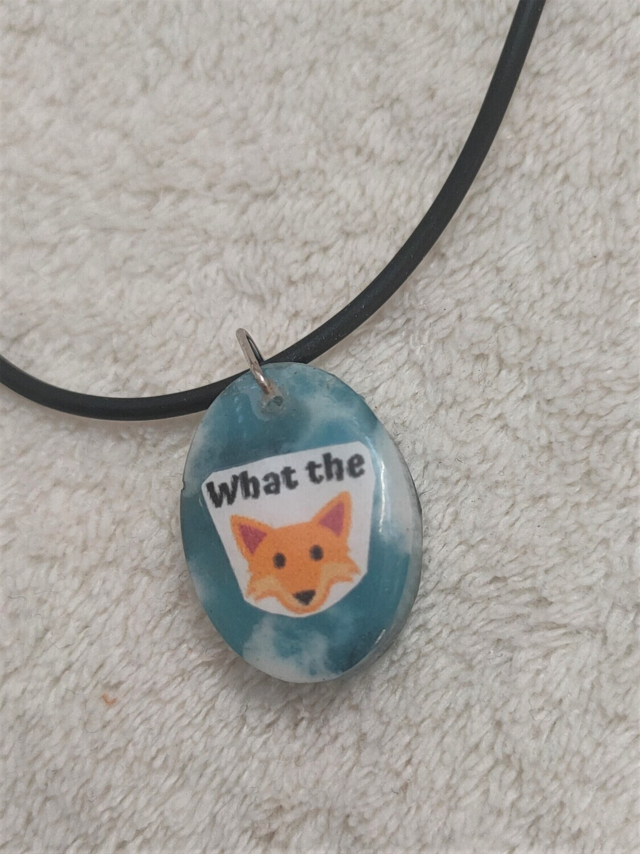 What the Fox pendant