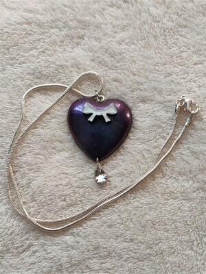 Chameleon Heart Pendant