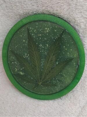 'Maple' Leaf coaster
