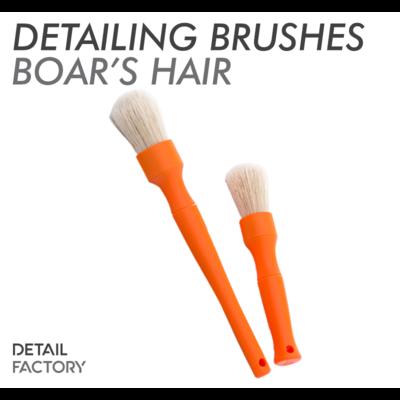 Detail Factory Premium Boar's Hair Detailing Brushes