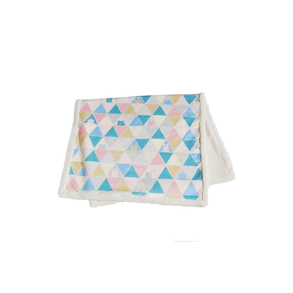 Мягкий плед для дома, 100*140 см, Fluffy BLUE Blanket