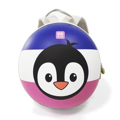 """Рюкзак детский на молнии с жесткой спинкой, """"Пингвин"""""""