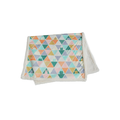 Мягкий плед для дома, 100*140 см,  GREEN Blanket
