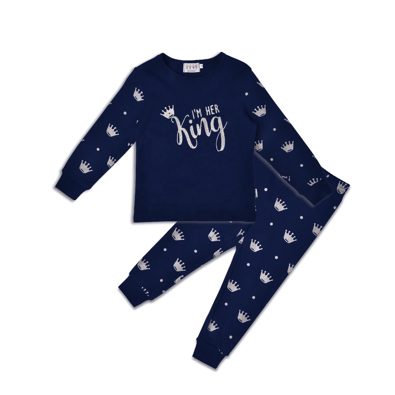 """Детская пижама """"Король с королевой"""" - Король"""