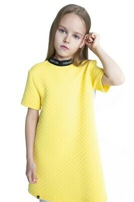 Платье прямое фактурное