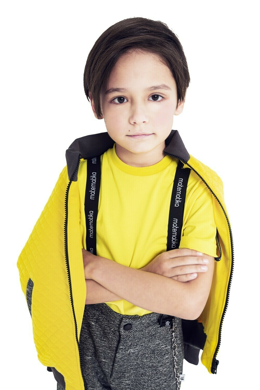 Куртка (Антрацит / Ярко-жёлтый)