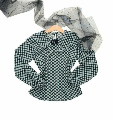 Блуза из штапеля «соты» коллекция FRANKIE