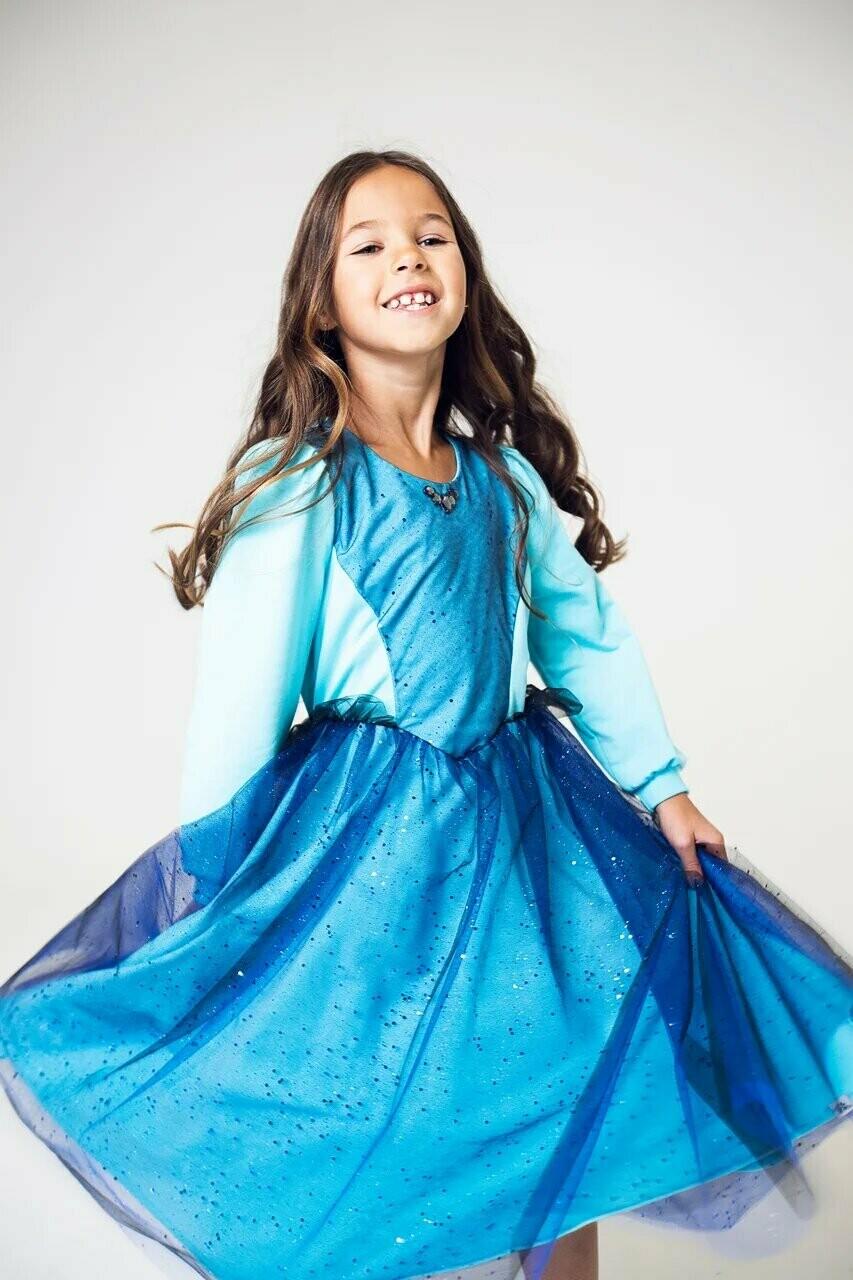 Платье праздничное по талии коллекция FRANKIE