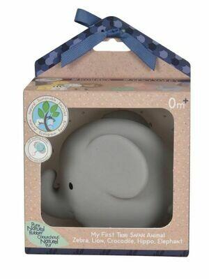 Игрушка из каучука Слон в подарочной упаковке