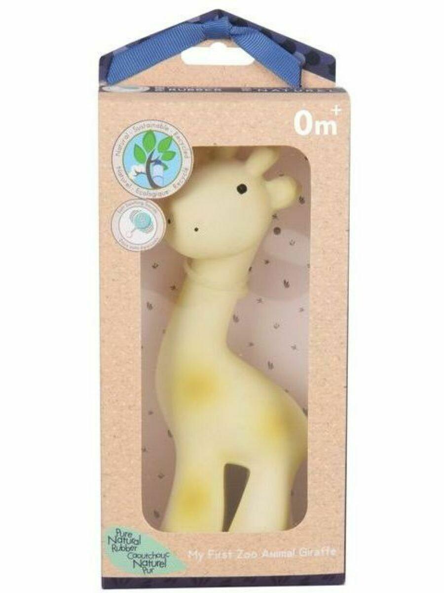 Игрушка из каучука Жираф в подарочной упаковке