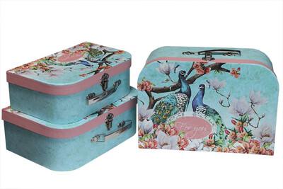 """Коробка-сундучок """"Фламинго"""""""