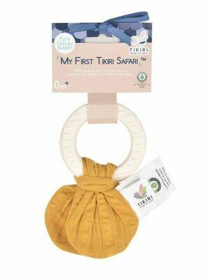 Прорезыватель-кольцо из каучука Tikiri