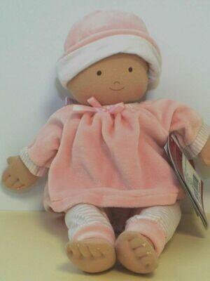 Мягконабивная кукла Cherub baby pink