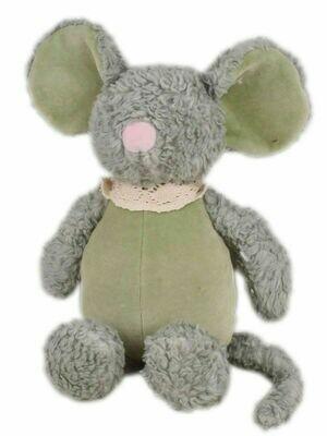 Мягконабивная игрушка Мышка из органического хлопка