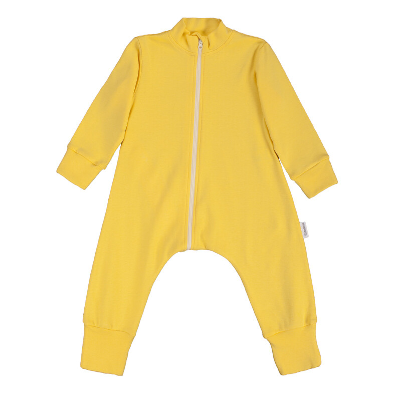 """Комбинезон-пижама на молнии легкий """"Желтый"""""""