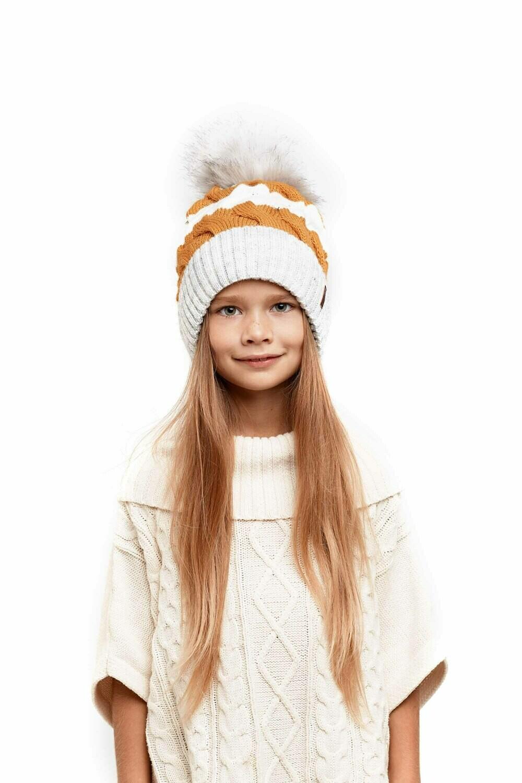 Шапка детская зимняя Афина