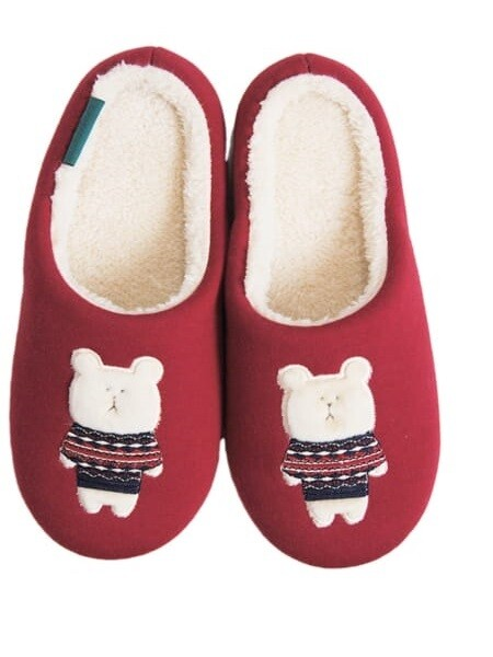 Тапочки домашние, изображающие Медведя  Nordic SLOTH, Slippers, 30 см