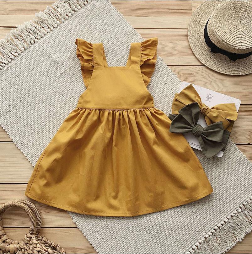 """Платье """"Алиса"""" горчичное"""