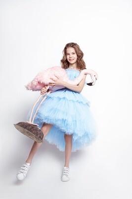 Пышное платье BLUE PRINCESS