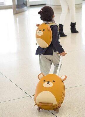 """Набор дорожный """"Медведь"""", рюкзак+чемодан"""