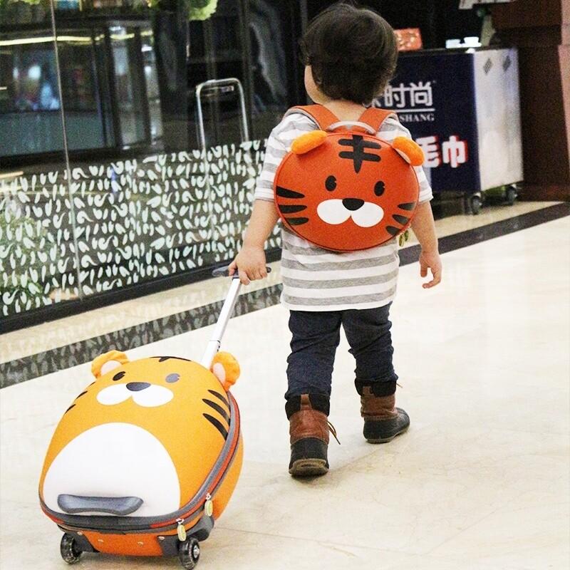 """Набор дорожный """"Тигр"""", рюкзак+чемодан"""