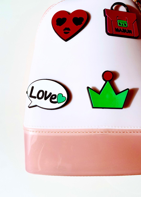 Сумка-рюкзак летний из силикона