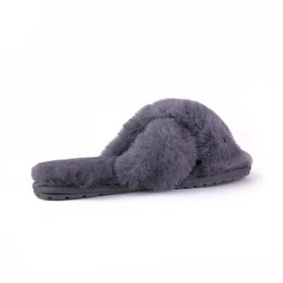 Детские тапки Mayberry, EMU AUSTRALIA, серый