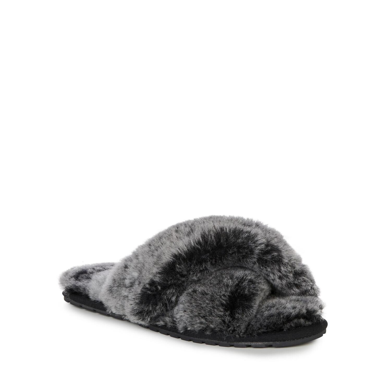 Женские тапки Mayberry Frost, EMU AUSTRALIA, черный