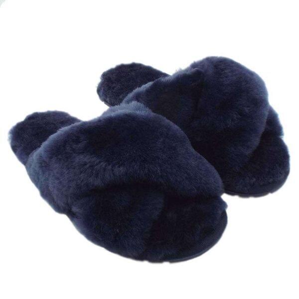 Женские тапки Mayberry, EMU AUSTRALIA, синий