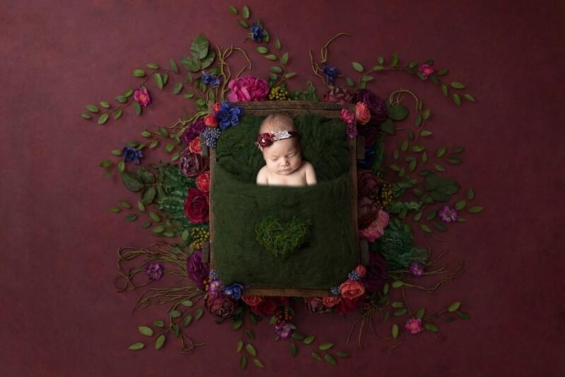 Newborn Portrait Shoot Session Gift Voucher