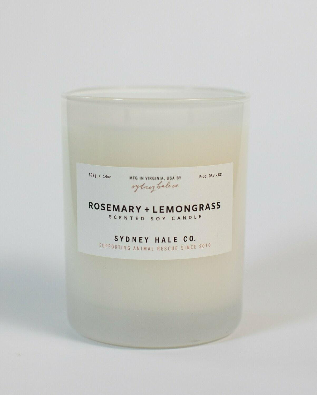 Rosemary Lemongrass Candle