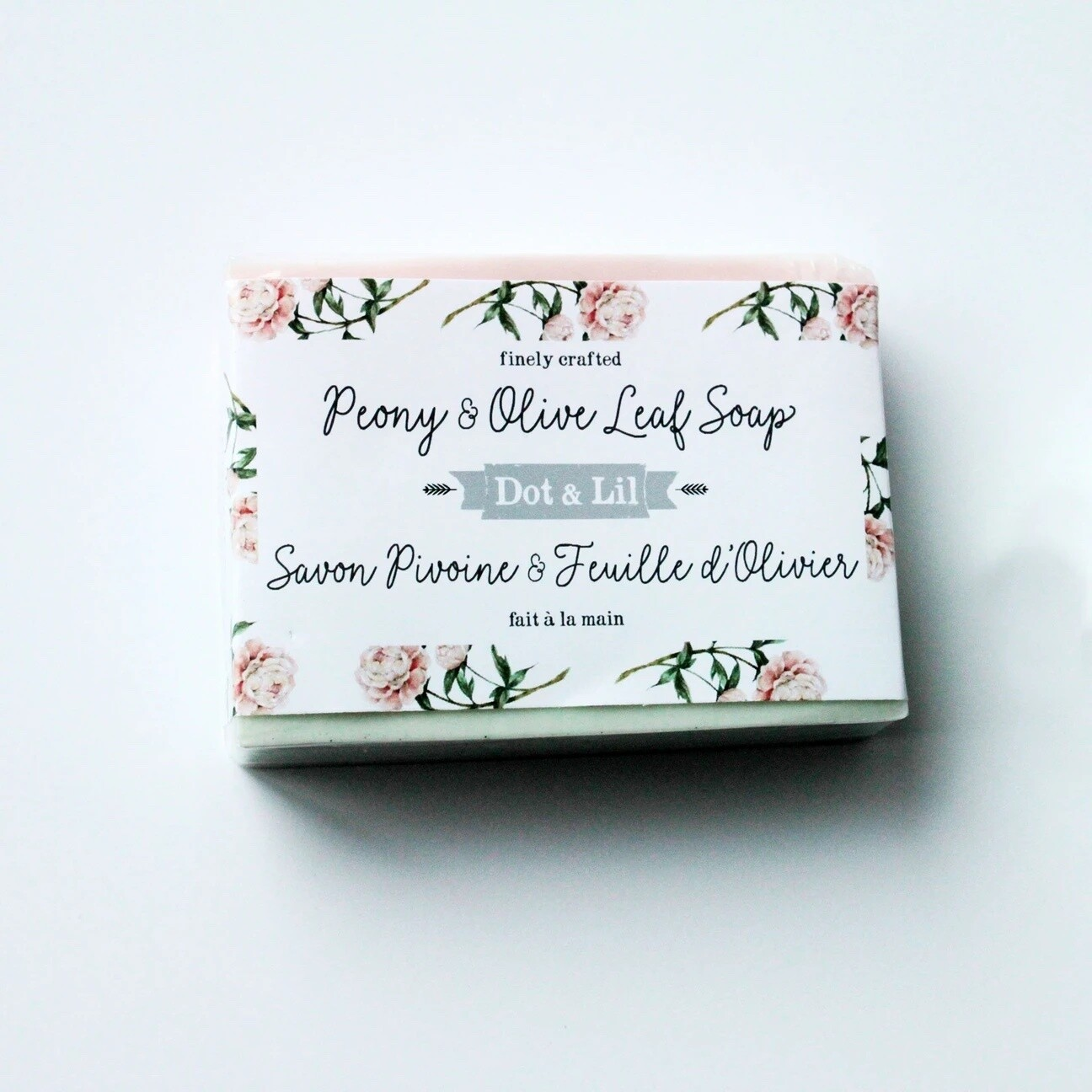 Peony & Olive Leaf Soap