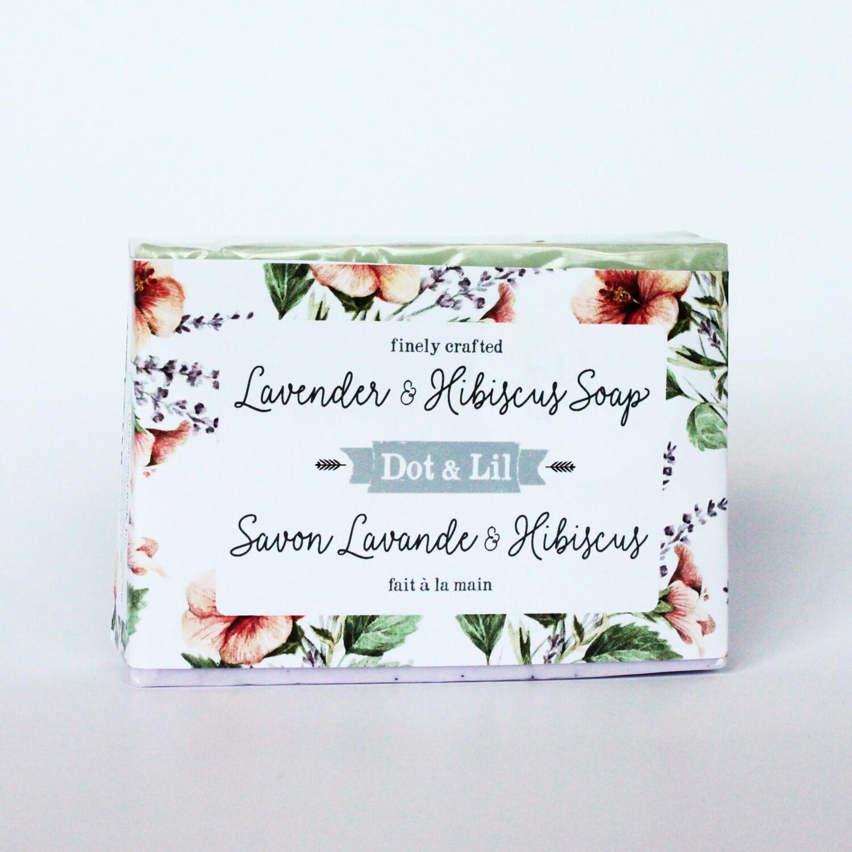 Lav & Hibiscus Soap