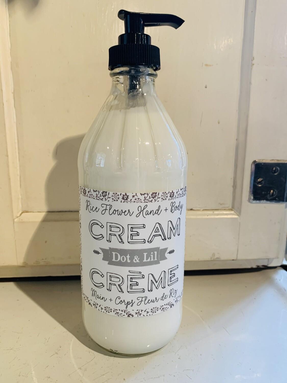 Rice Flower Body Cream