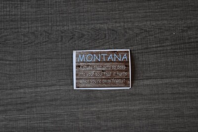 Montana gets so deep bumper sticker