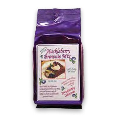 Huckleberry Brownie Mix